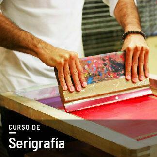 curso de serigrafia con stencil